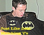 Made {it} Monday – Bat Dad and Bat Baby T-shirts